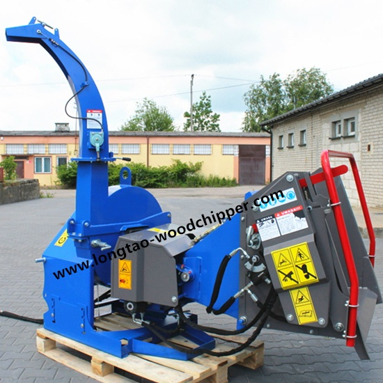 TRACTOR PTO DRIVEN BX52R WOOD CHIPPER WITH CE