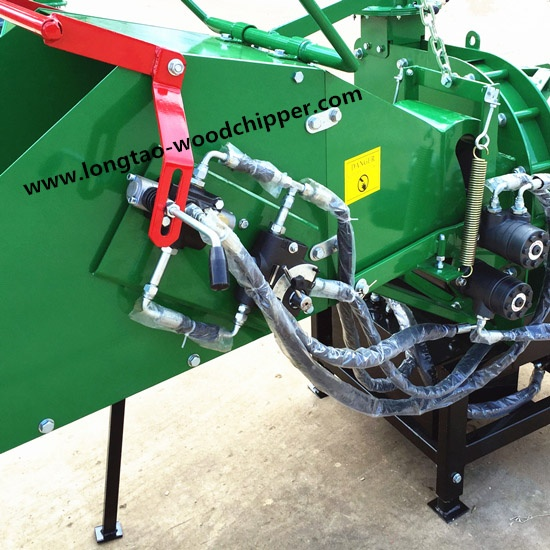 New WC8H tractor PTO wood chipper shredder with CE certification