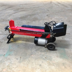 CE APPROVED MINI ELECTRIC 7 TON LOG SPLITTING MACHINE WITH CE