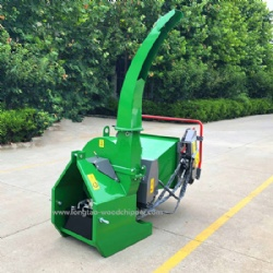 CE approved tractor pto drive hydraulic feed wood chipper BX72R to chip wood and branches