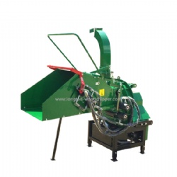 WC8H PTO Driven Wood Chipper Shredder 2 Reversible Blades With Hydraulic System