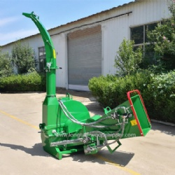 BX92R Hydraulic Feed 10 Inch Wood Chipper With 4 Reverse Blades CE Certification