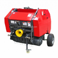 Automatic hay and straw baler mini roll hay baler with ce