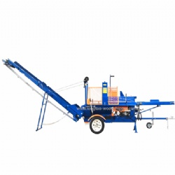 2019 New design wood log splitter processor with TUV CE