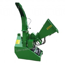 Forestry Machinery CE Approved Portable Pto Disc 8inch Wood Chipper with tank and pump
