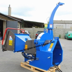 LONGTAO BX72R PTO Wood Chipper with Hydraulic In-Feed